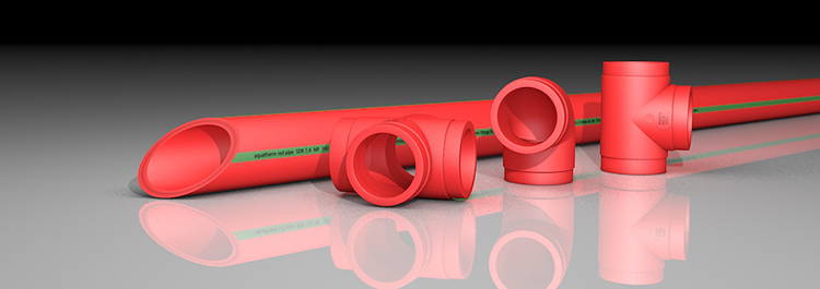 Aquatherm Red pipe and fittings
